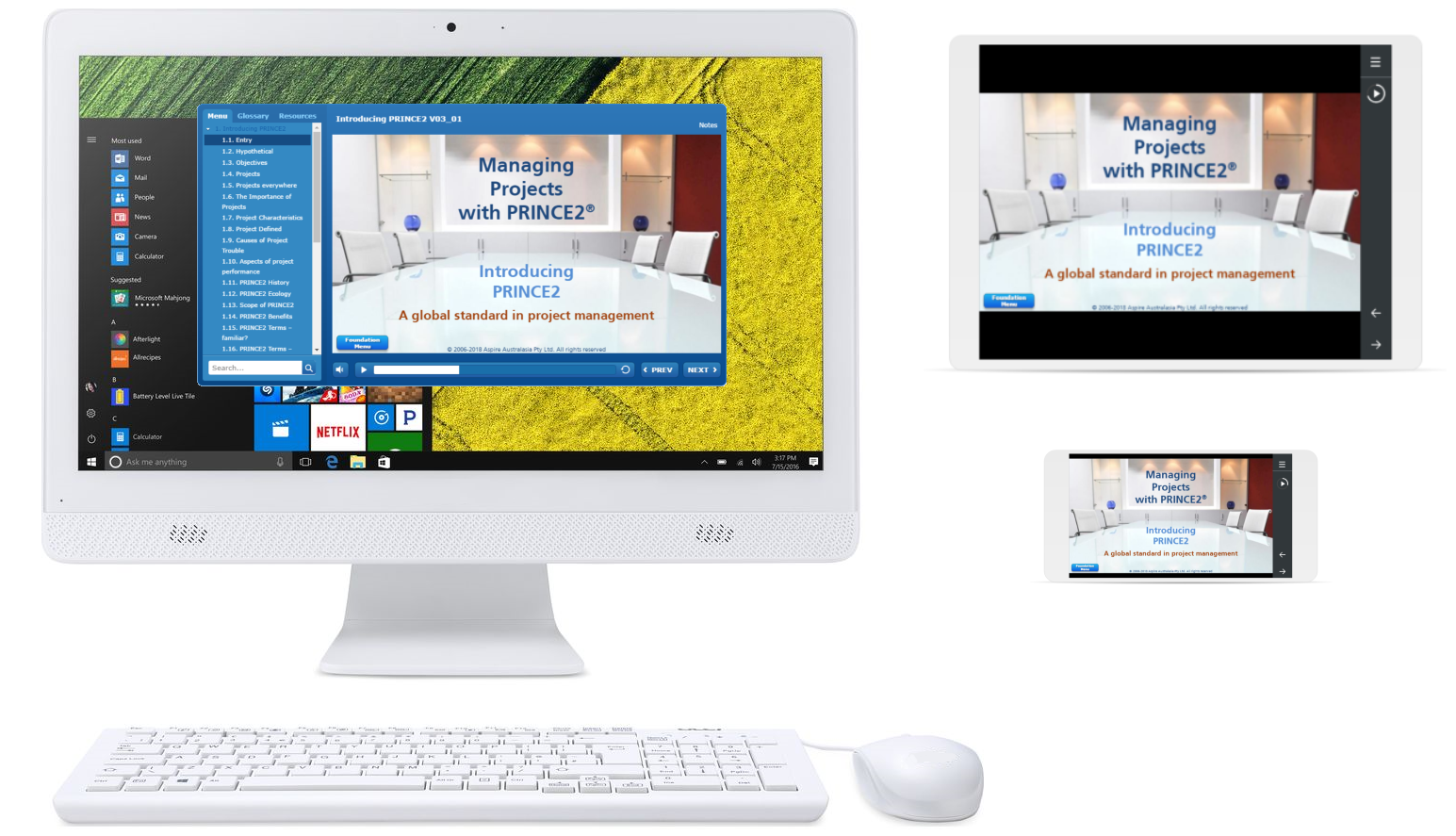 Inspiring Projects: Online training courses and